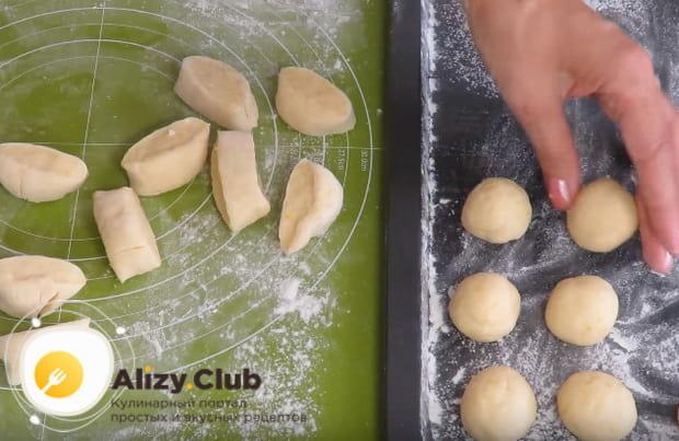 Делаем воздушные творожные пончики по подробному рецепту с фото