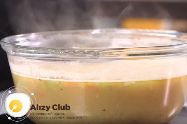 Как можно быстро сварить горох для супа