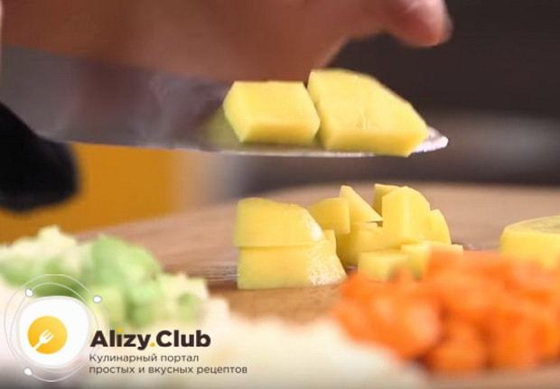 Детальный видео рецепт приготовления горохового супа