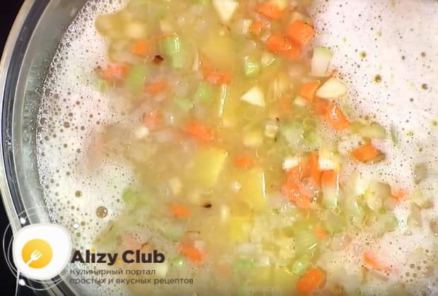 Готовим суп с горохом по детальному рецепту с фото инструкциями