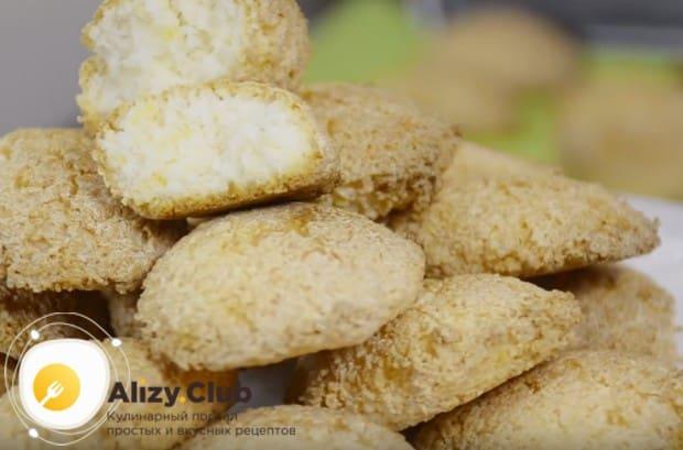 Это самый простой рецепт печенья с кокосовой стружкой.