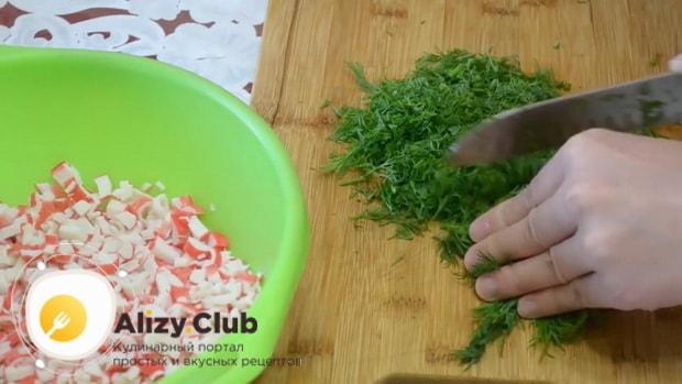 Как приготовить лаваш с крабовыми палочками и огурцом