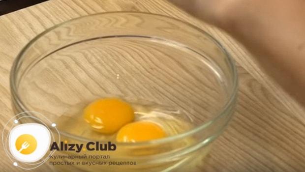 Делаем заправку из яиц
