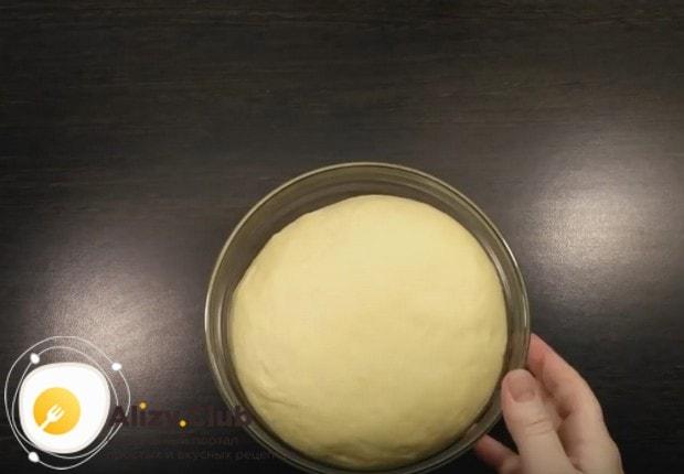 Тесто должно увеличиться приблизительно в два раза.