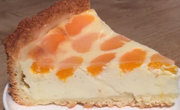 Как приготовить пирог с мандаринами по пошаговому рецепту с фото