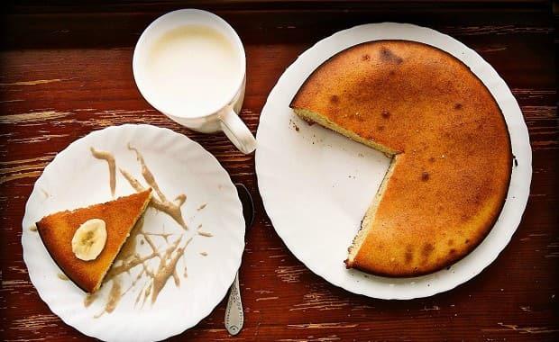 Пошаговый рецепт приготовления классического манника на молоке в духовке