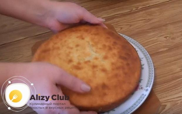 как испечь манник в духовке на кефире по подробному рецепту