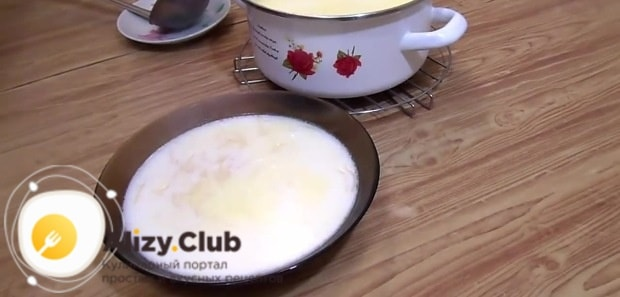 Суп готов к подаче