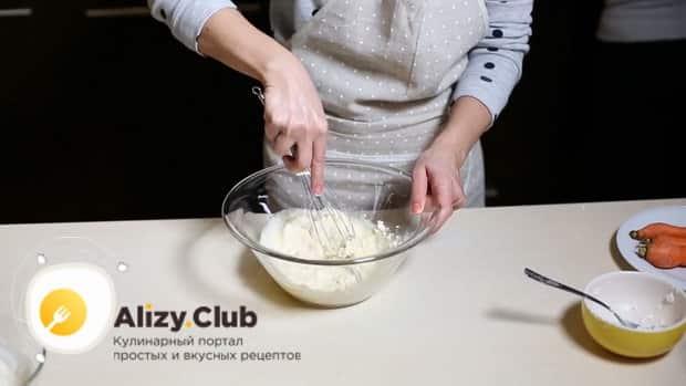 Смотрите как готовится творожная запеканка с морковью в духовке