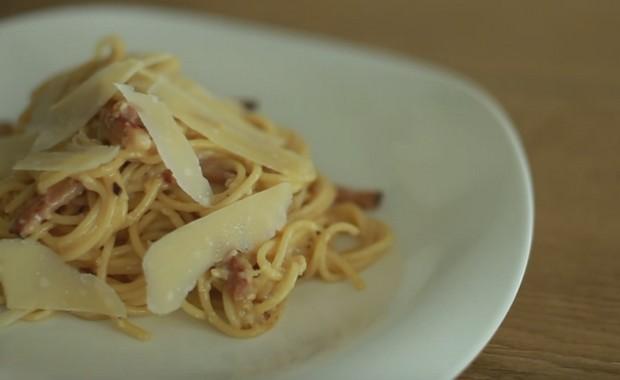 Как приготовить пасту (спагетти) карбонара по классическому пошаговому рецепту с фото