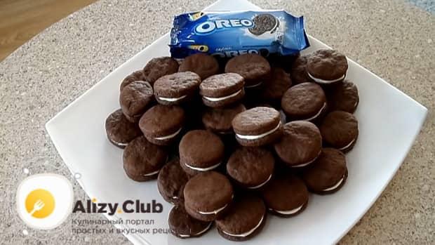 Приготовьте печенье орео по лучшему рецепту.