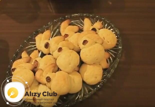 Печенье Пасхальный кролик получается тоже очень симпатичным.