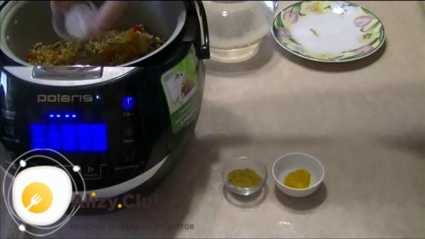 Добавляем 1 чайную ложки соли