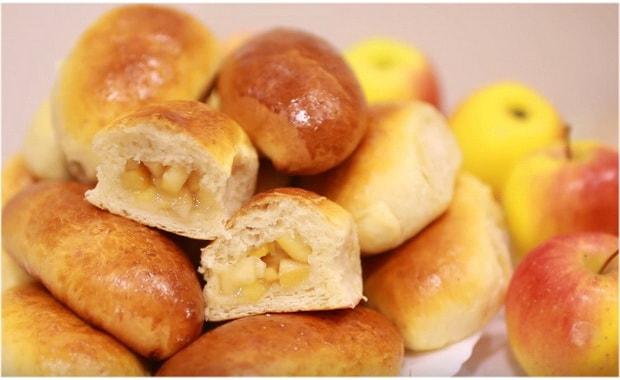 Как сделать пирожки с яблоками по пошаговому рецепту с фото