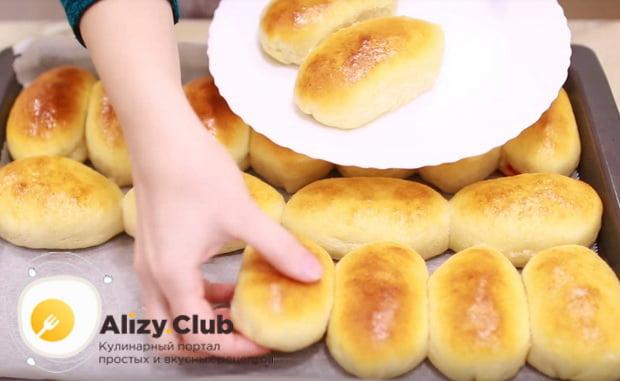 Готовим вкусные пирожки из слоеного теста с яблоками
