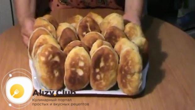 Пирожки со щавелем готовы