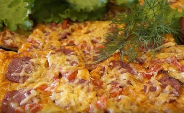 Как быстро приготовить пиццу из лаваша по пошаговому рецепту с фото