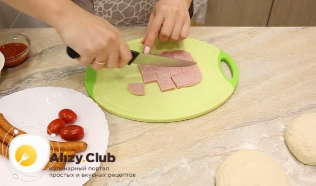 Как приготовить пиццу на кефире на сковороде