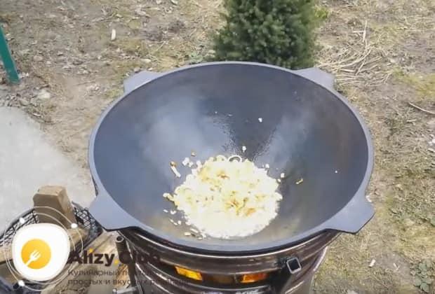 Посмотрите у нас также видео о том, как можно приготовить плов из курицы на костре.