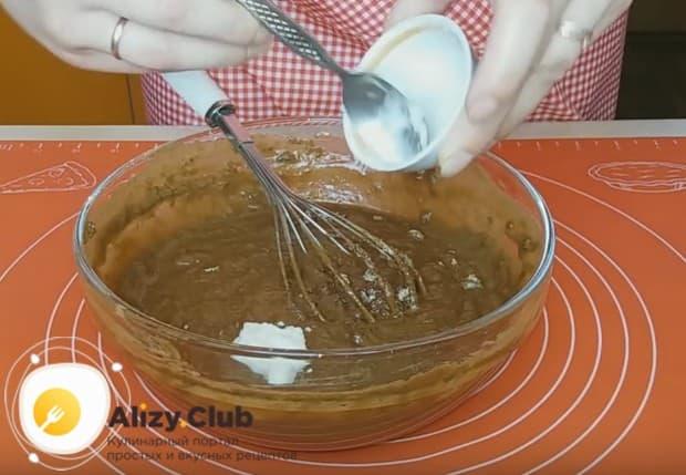 Такой постный кекс можно также приготовить в микроволновке.