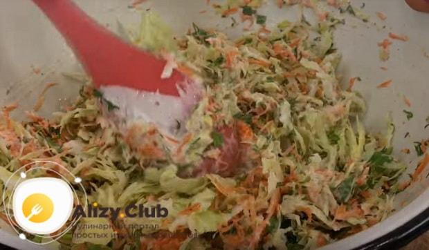 Готовим вкусный весенний салат с капустой и морковью по пошаговому рецепту