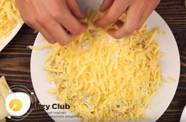 Готовим салат подсолнух с курицей по детальному рецепту с фото