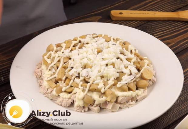 Рецепт приготовления салата подсолнух с пошаговыми фото и видео инструкциями