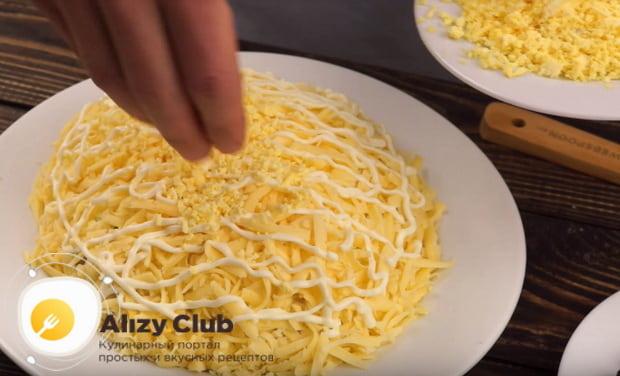 Готовим салат подсолнух с чипсами по фирменному рецепту с кукурузой