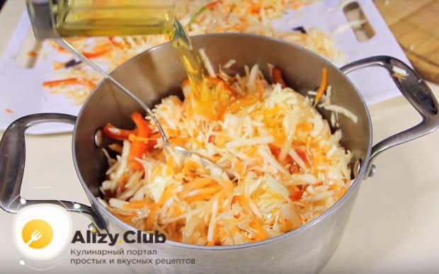Готовим вкусный и полезный витаминный салат как в столовой