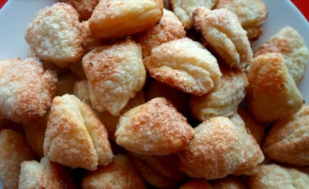 Как приготовить из творога печенье Гусиные лапки по пошаговому рецепту с фото