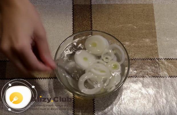 маринуем лук