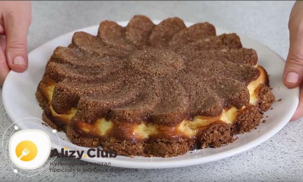 Подробный рецепт приготовления пирога с творогом в духовке