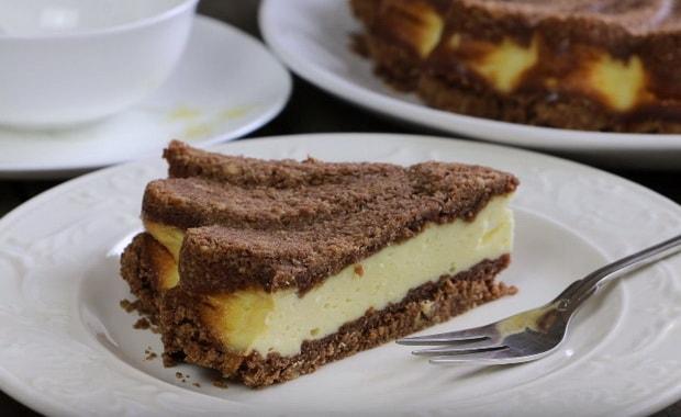 Как приготовить творожный пирог в духовке по пошаговому рецепту с фото