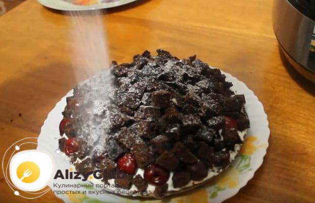 Детальный рецепт приготовления вишневого пирога в мультиварке с фото и видеоинструкцией