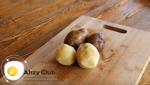 Нужно отварить картофель