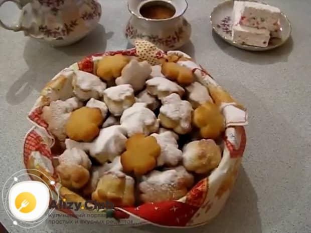Смотрите как приготовить печенье на огуречном рассоле.