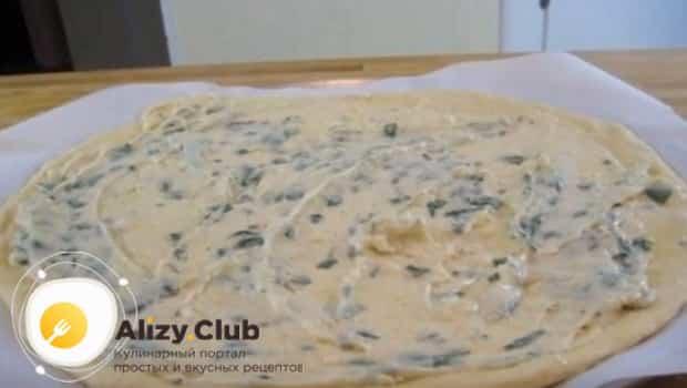 Вот так готовиться белый соус для пиццы