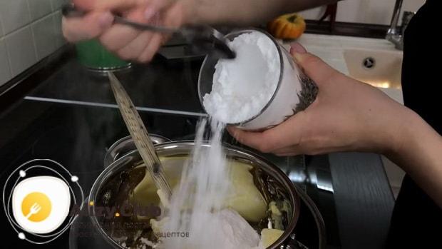 Смотрите как приготовить коржи для торта на сковороде