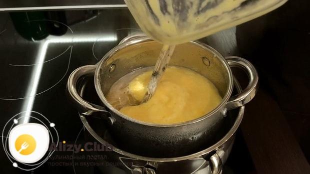 Смотрите как приготовить быстрый торт на сковороде
