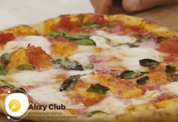 Приготовьте настоящую итальянскую пиццу в домашних условиях оп нашему рецепту.