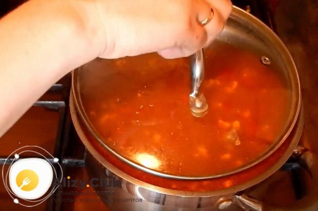 Детальный рецепт приготовления супа харчо с курицей