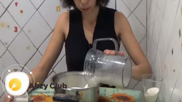 Варим манку с молоком