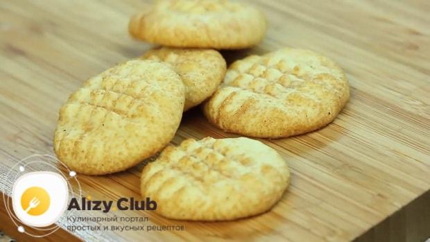 Вкусное печенье с корицей готово.