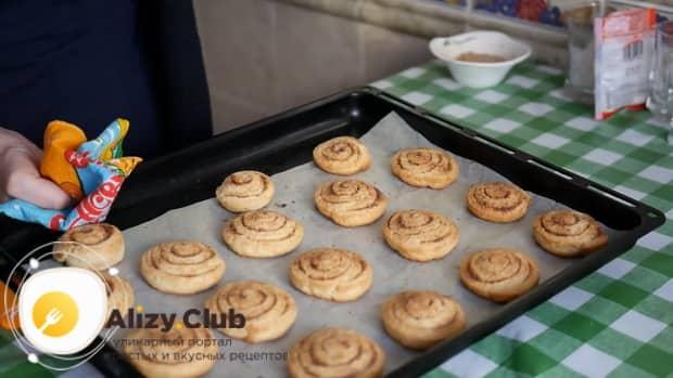 Вкуснейшие печенья с корицей готовы.