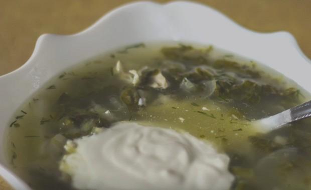 Как приготовить зеленые щи из щавеля с яйцом по пошаговому рецепту с фото