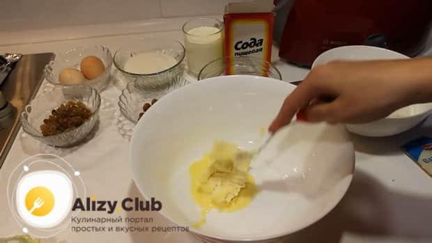 Для приготовления шоколадного кекса на кефире подготовьте все ингредиенты.