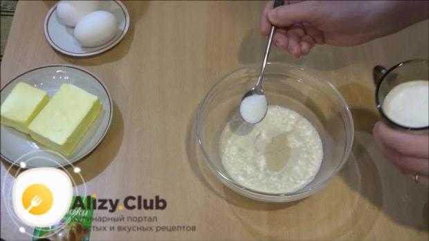 сахарный пирог видео рецепт