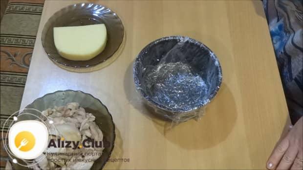 Смотрите простой рецепт приготовления салата лесная поляна с шампиньонами.