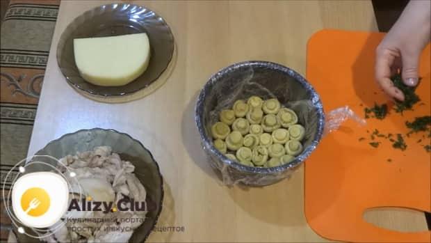 Смотрите рецепт приготовления салата лесная поляна с опятами