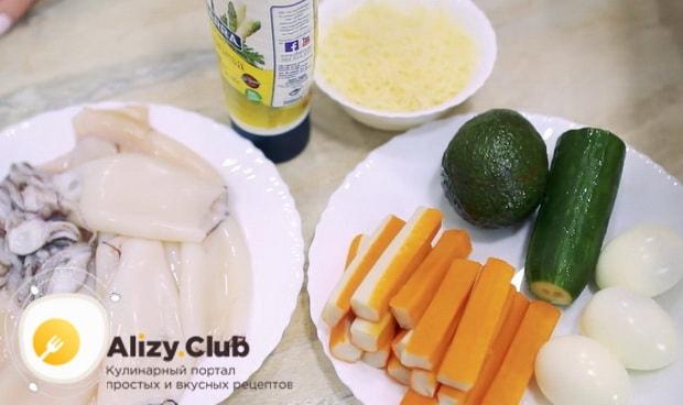 Попробуйте приготовить салат нежность
